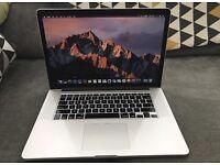 "MacBook Pro retina 15"" core i7 16gb ram 512gb SSD"
