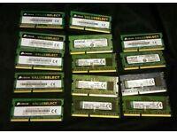 14 x 2GB DDR3 1333Mhz SODIMM Ram 24GB in total Laptop or Desktop