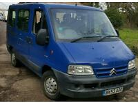 Citreon relay mini bus 9 seater
