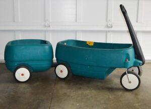 step 2 wagon with trailer (caboose)