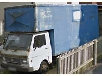 VW LT40 Luton box