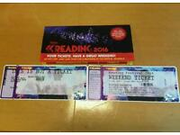 Reading weekend ticket for sale