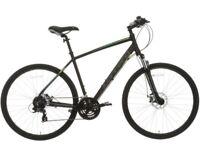 "Carrera Crossfire 2 Hybrid Bike 21"" (Brand New with receipt) RRP £320"