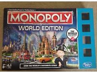 Brand New Monopoly World Edition