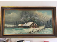 Vintage German painting