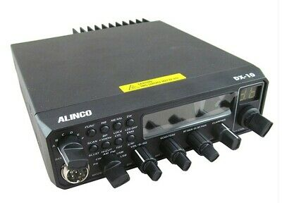 ALINCO DX-10 EMISORA 10 MTS AM-FM-USB-LSB-CW