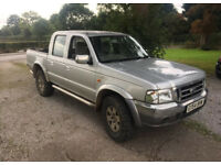 2004 ford ranger xlt 4x4 pick up spares or repairs