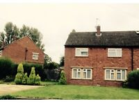 3bed house exchange council Northampton villiage