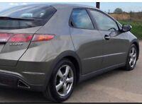 ((( DIESEL))) HONDA CIVIC 2.2 I-CDTi *FSH*MOT-1 YEAR *EXCELLENT like Ford Focus mazda 3