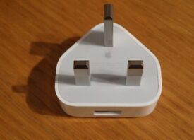 3X Apple iPhone ,iPad and iPod Mains Plug USB Power Adaptor Wall Charger