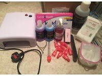 Nail equipment barely used