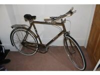 Raleigh esquire vintage town bike bicycle 70s retro brooks saddle new tyres