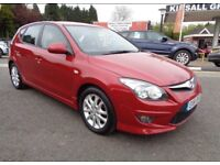 2010 HYUNDAI I30 COMFORT1.6 DIESEL 12 MONTH MOT FULL SERVICE HISTORY MILEAGE 68k HPI CLEAR