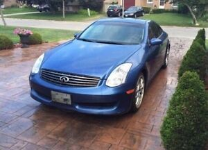 2007 Infiniti G35 Coupe in excellent condition