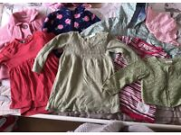 Bundle baby girls clothes 12-18 months