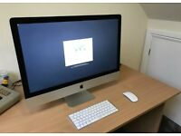 "Apple iMac 27"" 5k Retina Display 3.2ghz 8GB 1TB Fusion Drive"