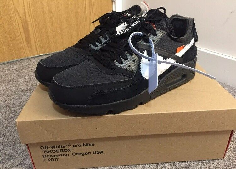 NIKE X OFF WHITE COLAB THE TEN: NIKE AIR MAX 90 X VIRGIL ABLOH SIZE 8 UK US 9 | in Bradford, West Yorkshire | Gumtree