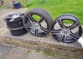 ZCW alloys for sale!! (BARGAIN!!) 4 Stud