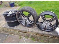 ZCW alloys for sale!! (BARGAIN!!) 4 Stud