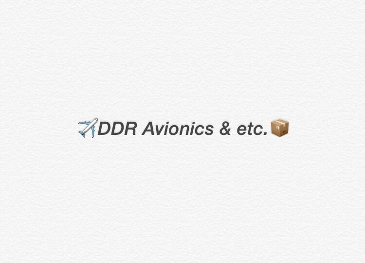 DDR+Avionics+etc