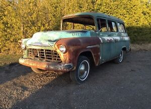 1955 Chevy Suburban Carry all $5000
