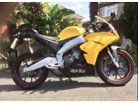 Aprilla RS4 125cc motorbike