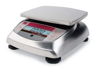 Ohaus Valor 3000 Compact Bench Scales - V31xh402 Am 400 X .01g 83998178 Ntep