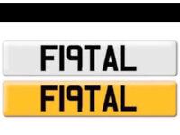 F19TAL - Fatal Number Plate GTD , GTI , Toyota , Mercedes , BMW
