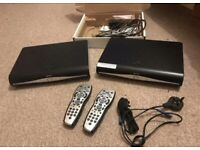 2 SKY+HD box sets for sale