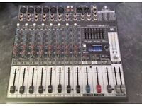 Behringer Xenyx 1222FX Mixer with built in Effects