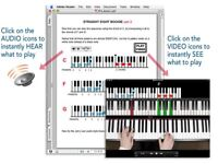 PIANO AND KEYBOARD LESSONS (ONLINE)