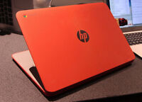 HP Chromebook 14 (comes with box) + Shell case