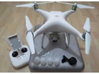 DJI Phantom 4 Drone with all accessories