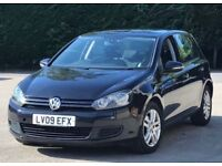 2009 Volkswagen Golf TSI SE Hatchback 5dr Petrol Manual 2 owners