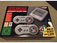 SNES MINI BRAND NEW