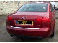 Audi A4 B7 2006 Front End S LINE