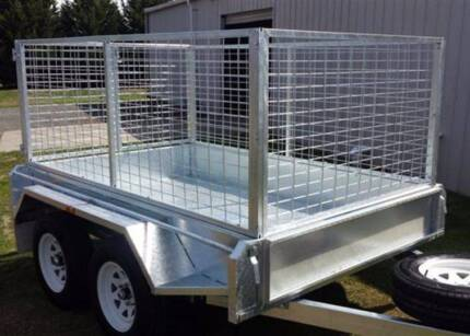 Brand New 8x5 Galvanised Tandem Axle Trailer