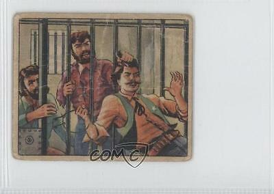 1949 Bowman Wild West Law And Order  F 8 Jail Break Non Sports Card 0S4