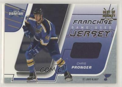 2002 In the Game Be A Player Signature Series Best of Hockey 1/1 Chris