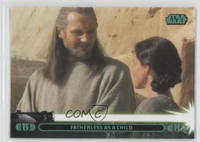 2013 Topps Star Wars Jedi Legacy 2A Fatherless as a Child (Anakin Skywalker) - Anakin As A Kid
