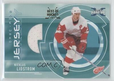2002-03 ITG Be A Player Signature Series Best of Hockey 1/1 Nicklas Lidstrom