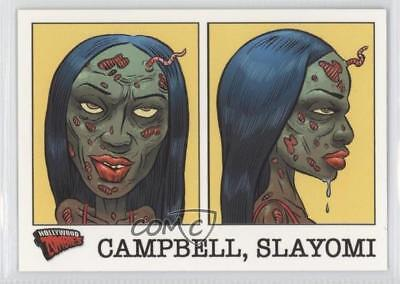 2007 Topps Hollywood Zombies Glow-in-the-Dark Mug Shots #7 Slayomi Campbell d8k](Glow In The Dark Shots)