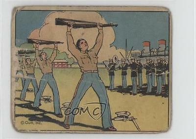 1941 Gum Inc Uncle Sam R157  61 Keeping Fit Non Sports Card 2U1