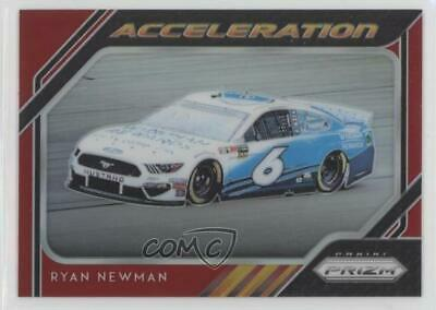 2019 Panini Prizm Acceleration Red /50 Ryan Newman #60