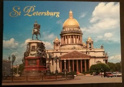 St Petersburg, Russia - Postcard - Awesome Text on back
