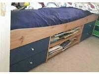 Child's cabin bed - no mattress