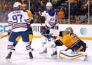Way Below Face Value  Oilers vs Preds FRIDAY Jan 20 Row 9 Club