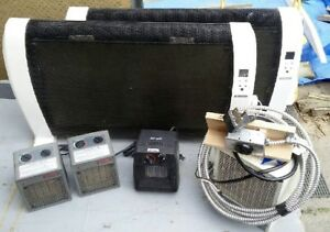 Portable heaters  $15.00 - $85.00