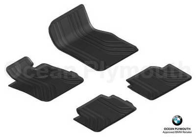 Genuine BMW All Weather  Rubber Mats Set of 4 F30F31F34 X Drive 51472365968