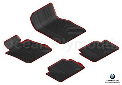 Genuine BMW All WeatherRubber Floor Mats Set 4 Sport F30F31   51472339780